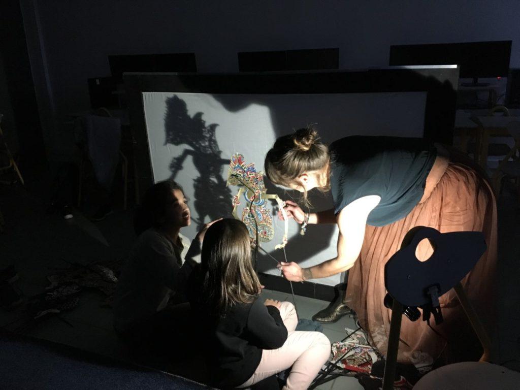 Atelier médiation culturelle marionnette 2