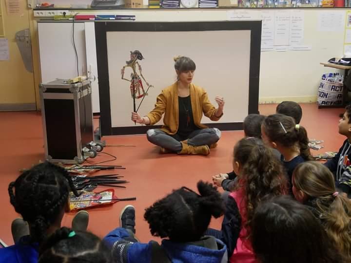 Atelier médiation culturelle marionnette