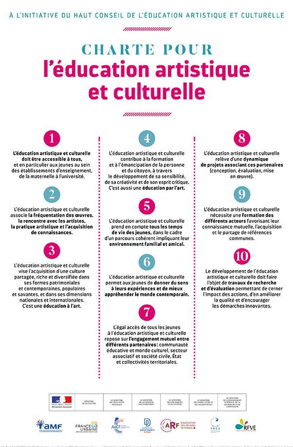 Charte_Education artistique et culturelle