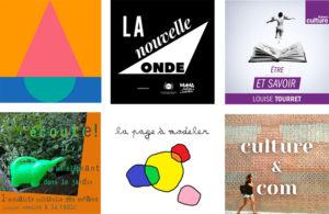 Visuels_podcasts médiation culturelle et enfance