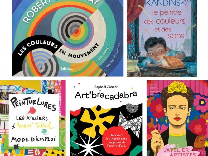 sélections livres art jeunesse